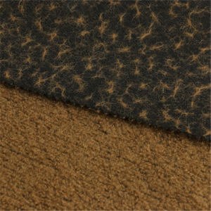 48%Wool 52% Polyester Woolen Fabric of Overcoat pictures & photos