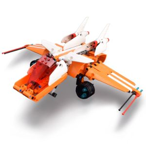 57354006W-Building Blocks Star Wars Skyhopper DIY Aircraft Building Kit Toys pictures & photos