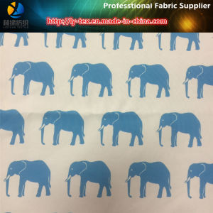 Polyester 4 Ways Stretch Fabric with Elephant Printed for Beach Pants (YH2144) pictures & photos