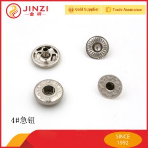 12.5mm Metal Covered Ring Snap Button/Metalic Fastener Button/Metal Spring Snaps/Factory Direct-Price pictures & photos