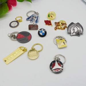 Company Logo Promotional Wholesale Metal Keychain pictures & photos