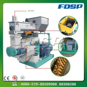 Wood Ring Die Pellet Machine Mzlh/Biomass Pellet Production Line pictures & photos