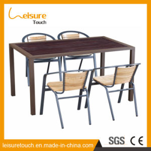 Wholesale Rattan Furniture Outdoor Wicker Chair and Table with Aluminum Plastic Wood pictures & photos