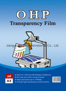 OHP Transparency Film Laser Printer/Paper Copier/Inkjet Printer pictures & photos