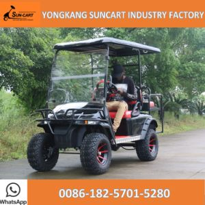 Battery Operated 2+2 Seats Golf Cart From China for Sale, Golf Cart Ezgo Model Made in China pictures & photos