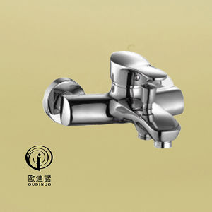 Oudinuo Brass Body Zinc Handle Kitchen Mixer 68219 pictures & photos