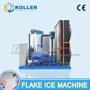Koller 5000kg/Day Fresh Water Flake Ice Machine for Fishery pictures & photos