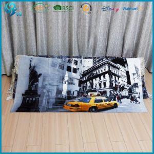 100% Cotton Velour Full Color Custm Design Printed Beach Towel pictures & photos