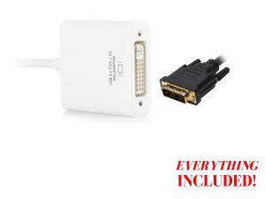 Type C Plug to DVI Female Adaptor pictures & photos
