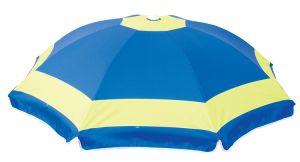 New Design Heattransfer Printing 1.8m Polyester Beach Umbrella with Sun Block pictures & photos