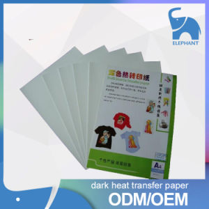 Cheap Price Hot Selling Dark and Light T-Shirt Heat Transfer Printed Paper pictures & photos