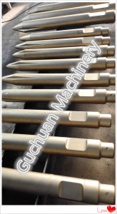 Hydraulic Breaker Chisel with Different Shapes Flat/ Moil Point/ Blunt/ Wedge pictures & photos