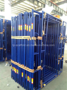Scaffolding Frame Walk Through with Different Surface Finish pictures & photos