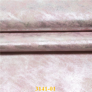 Soft PU Artificial Leather for Shoes and Bags pictures & photos