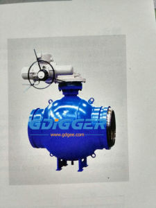 Wvscq367FM Gas Fully-Welding Ball Valve, Trunniion Mounted pictures & photos