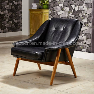 Comfortable Black Backrest Upholstery Chair for Living Room (SP-HC062) pictures & photos