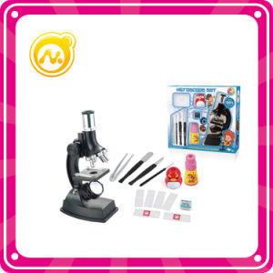 900X Microscope Set Toys with Monocular Glasses, Plastic Kaleidoscope
