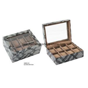Fashion PU Leather Display Gift Storage Watch Box and Case