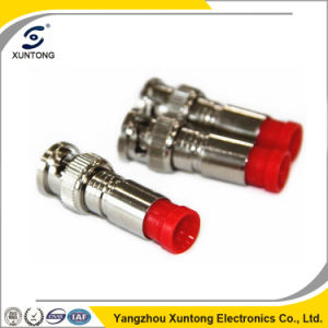 BNC Compression 75 Ohms BNC Male Connector for TV Antenna pictures & photos
