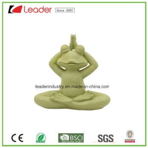 New Lovely Polyresin Dog with Yoga Figurine for Home Decoration and Garden Ornaments pictures & photos