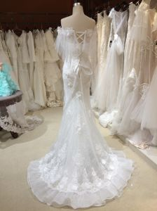 Mermaid Trumpet Ivory Wedding Dresses with Wraps pictures & photos