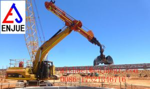 Excavator Rotating Grapple Selector Grab Excavator Demolition Grab Bucket pictures & photos