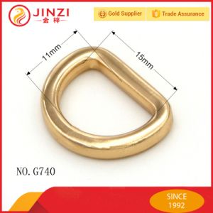 New Design Metal D Ring for Handbags Accessories pictures & photos