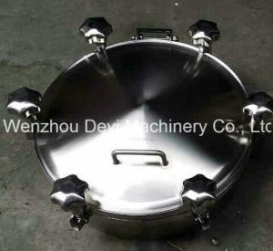 "24"" Round Pressurize Manhole with O-Ring Seal PTFE pictures & photos"
