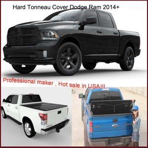 3 Year Warranty Hard Fold up Tonneau Cover for RAM 1500 Express Crewcab Double Cab 2014+ pictures & photos