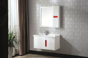 Modern Style Elegant Solid Wood Bathroom Cabinet pictures & photos