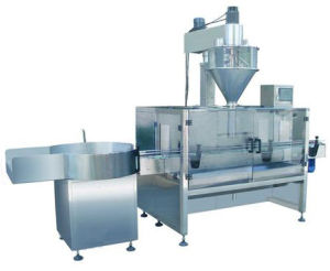 Semi-Auto Powder Feeding and Filling Machine pictures & photos