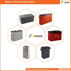 12V100ah Gel Battery/ AGM Deep Cycle Battery for Solar Power/ UPS Power Battery Cg12-100 pictures & photos