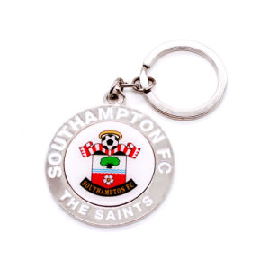 Flag Shape Printed Key Chain Metal Craft pictures & photos