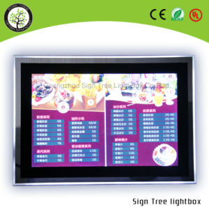 High Quality LED Crystal Light Box Slim Light Box pictures & photos