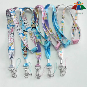 Heat Transfer Logo Printed Ribbon for Neck Lanyard pictures & photos