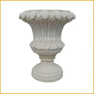 Stone Round Garden Vase pictures & photos