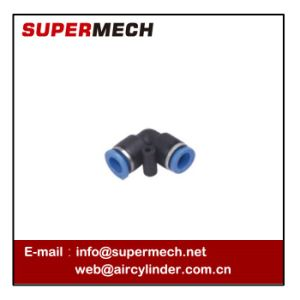 PV One Touch Pneumatic Elbow Quick Disconnect Fitting pictures & photos