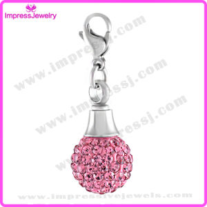 Small Stainless Steel Crystal Ball Charm Pendant Cremation Urn Necklace (IJA007) pictures & photos