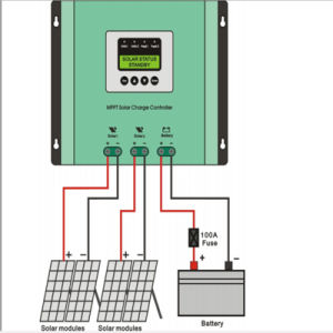 High Quality 30A 40A 50A MPPT Solar Charge Controller for Solar Power System pictures & photos