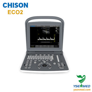 Medical Hospital Chison Eco2 Black& White Portable Cheap Ultrasound Machine pictures & photos