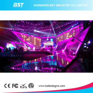 Ultra Thin 4.81mm Rental LED Video Display Advertising, LED Wall Display Screen 43264dots/Sqm pictures & photos