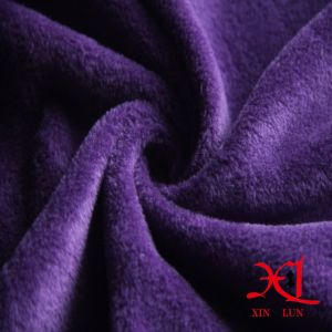 Super Soft Two Way Stretch Polyester Polar Fleece Fabric for Garment/Lining pictures & photos