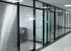 Modern Office Wooden Aluminum Glass Partition Wall (NS-NW032) pictures & photos