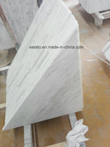 Natural Triangle White Volakas Marble for Flooring pictures & photos