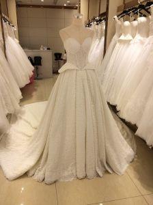 Top Seller Design Princess/A Line High Quality Wedding Dress pictures & photos