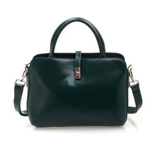 Women Leather Handbag Genuine Leather Fashion Shoulder Briefcase pictures & photos