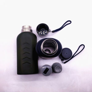 Ss304 Double Wall Flask, Sports Water Bottle with Lid (SH-ST21) pictures & photos