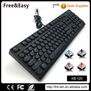 New Design Round Key Mechanical Gaming Keyboard pictures & photos