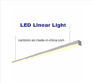 40W LED Linear Lamp/LED Linear Light with White Color and Black Color for Choose