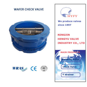 Best Price Double Door Wafer Check Valve pictures & photos